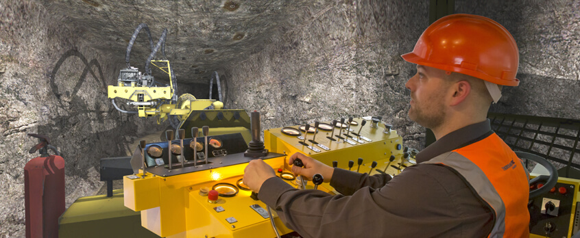 Assmang Black Rock Expands Training Capabilities with Cybermine Bolter Simulator