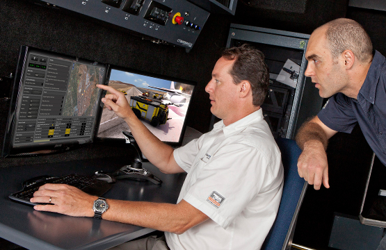 CYBERDRIVE-Simulator-Instructor-Station