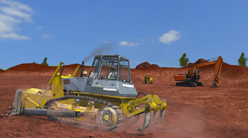 CYBERQUIP-Construction-Dozer-Ripping
