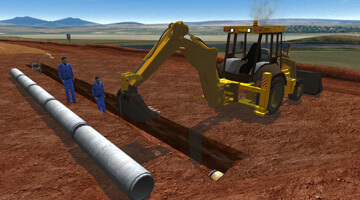 CYBERQUIP-TLB-Simulator-Pipe-Laying