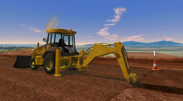 CYBERQUIP-TLB-Simulator-Trench-Digging