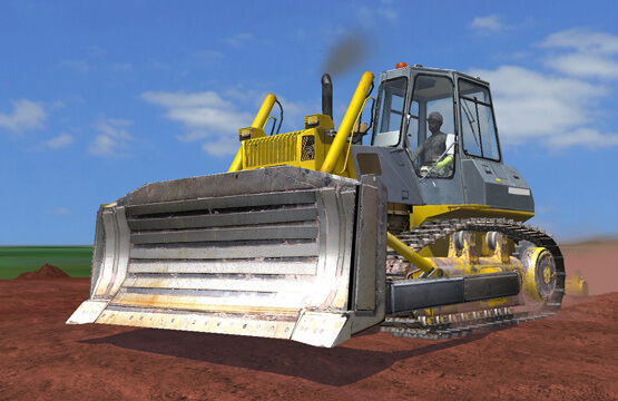 Construction-Dozer-Simulator