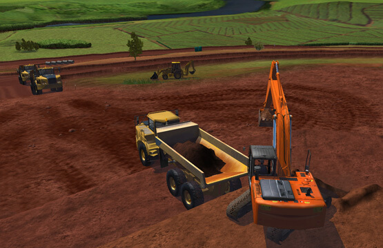 Construction-Excavator-Simulator