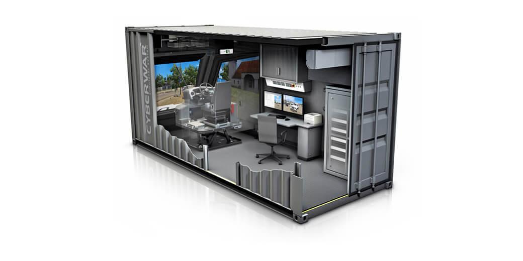 Container-Simulator-System