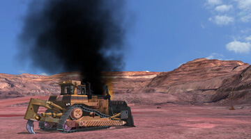 Dozer-Simulator-Emergency-Situation
