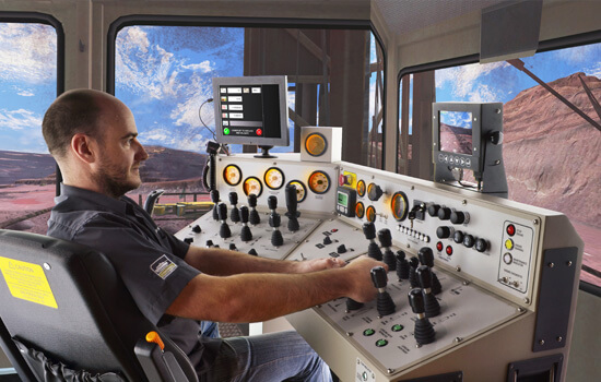Cybermine Surface Drill Rig Simulators Thoroughtec
