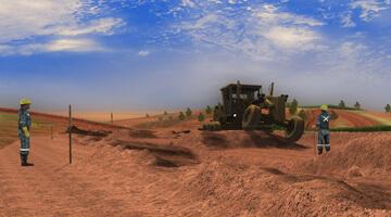 Grader-Simulator-levelling
